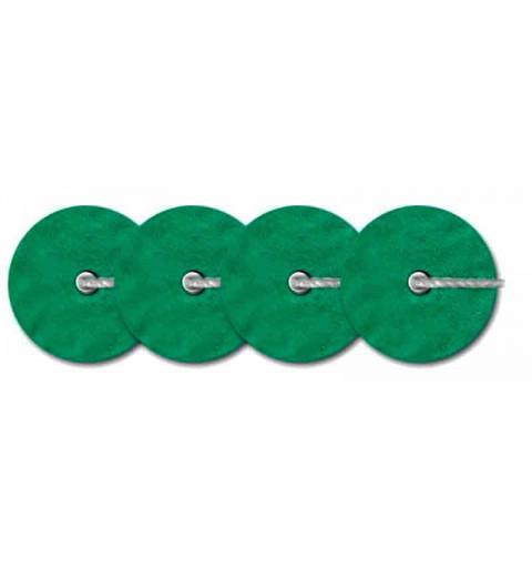 4mm Dark Green Metallic Mat 10046 Paillettes LM France