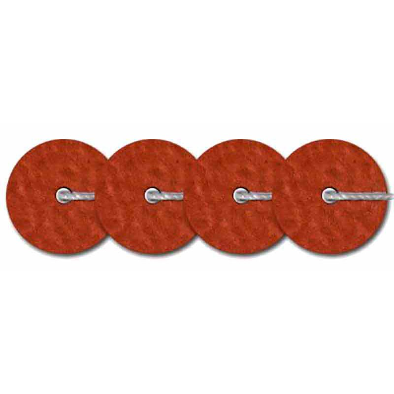 4mm Brun Metallic Mat 10065 Paillettes LM France
