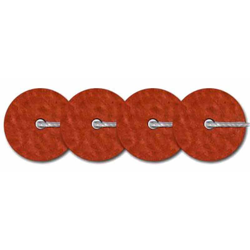 4mm Marron Metallic Mat 10065 Paillettes LM France