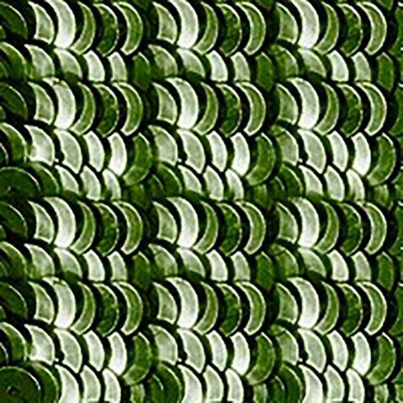 4mm Moss roheline Etincelle 2513 Paillettes LM France