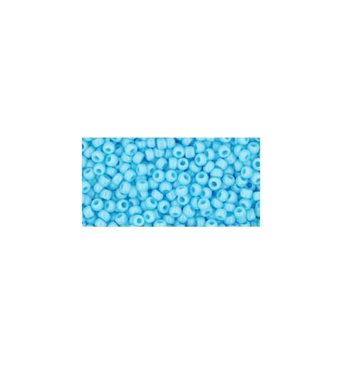 TR-11-43 OPAQUE BLUE TURQUOISE TOHO HELMED