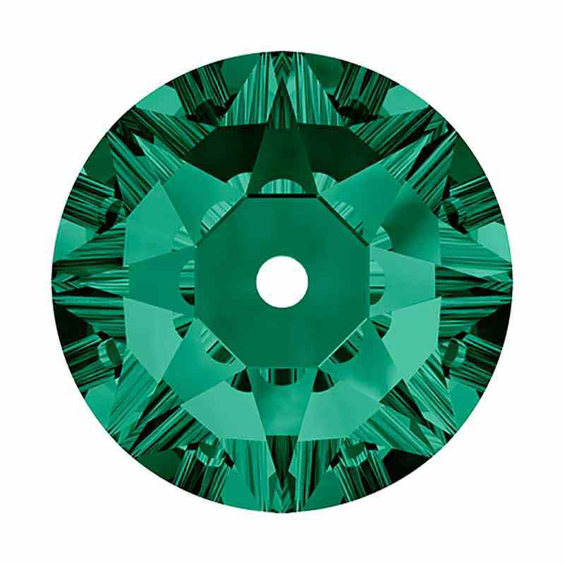 4MM Emerald F 3188 XIRIUS Lochrose SWAROVSKI