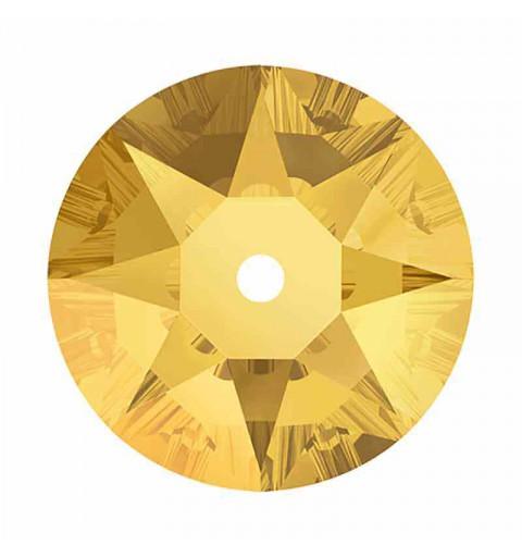 5MM Metallic Sunshine F 3188 XIRIUS Lochrose SWAROVSKI