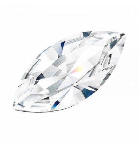 10x5MM Crystal DF Navette fancy stone Preciosa
