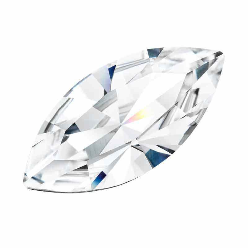 15x7MM Crystal DF Navette ehte Kivi Preciosa