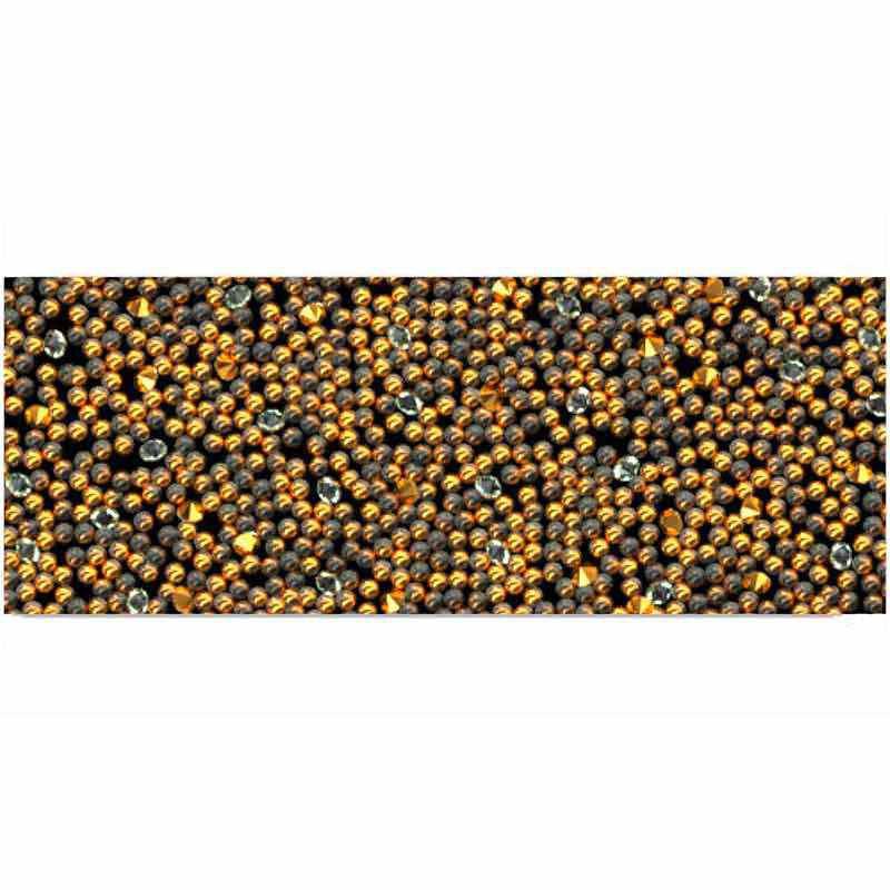 Metallic Sunshine HF/Black 57000 Crystal Fabric Banding SWAROVSKI