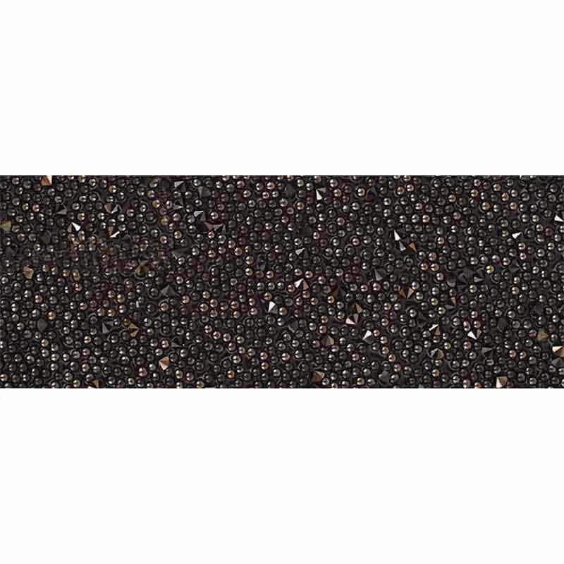 Jet Nut IT/Black 57000 Crystal Fabric Banding SWAROVSKI