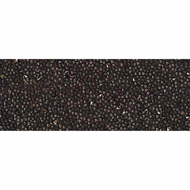 Jet Nut IT/Black 57000 Crystal Fabric Banding SWAROVSKI