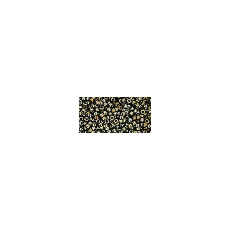 TR-11-83 METALLIC IRISH BROWN  TOHO SEED BEADS