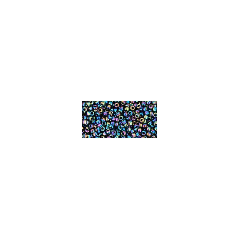 TR-11-86 METALLIC RAINBOW IRISH TOHO SEED BEADS