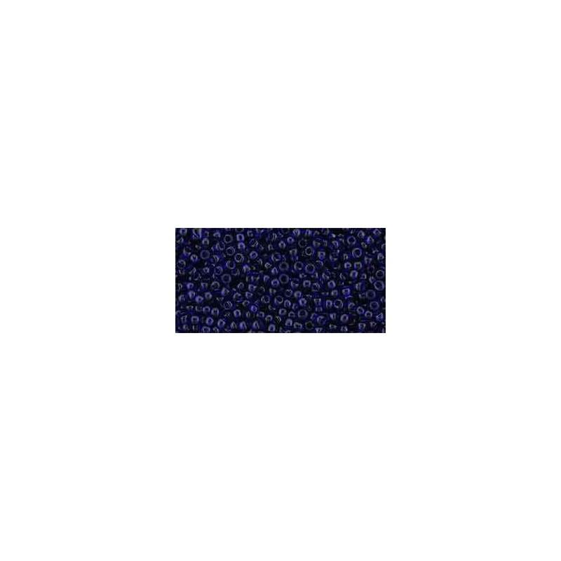TR-11-8D Transparent Cobalt ТОХО Бисер