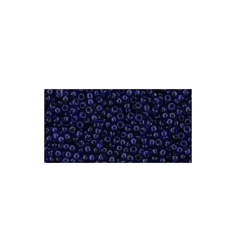 TR-11-8D Transparent Cobalt TOHO Seed Beads