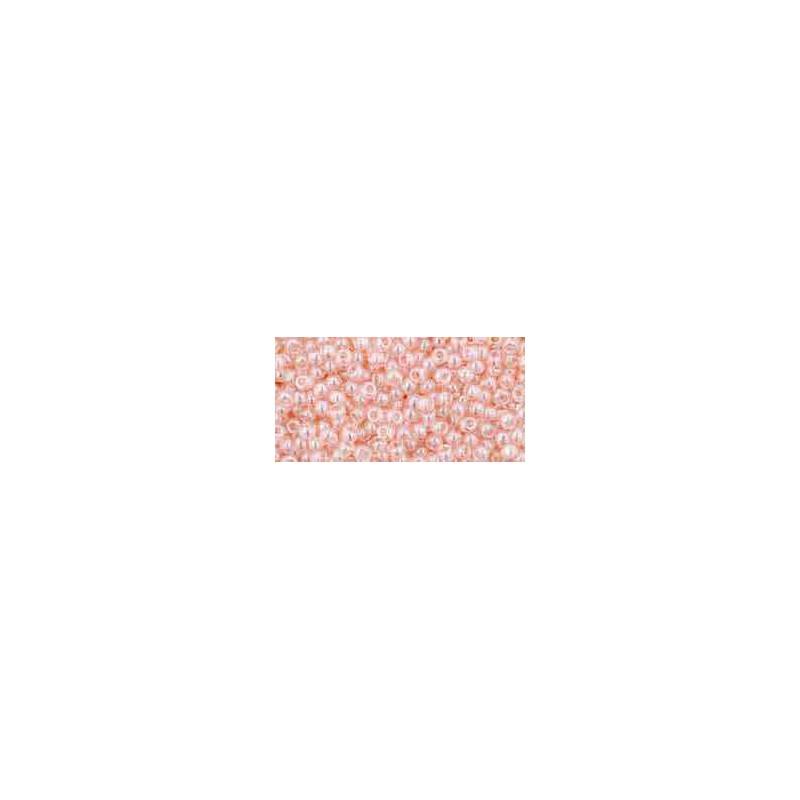 TR-11-106 Transparent-Lustered Rosaline TOHO Seemnehelmed