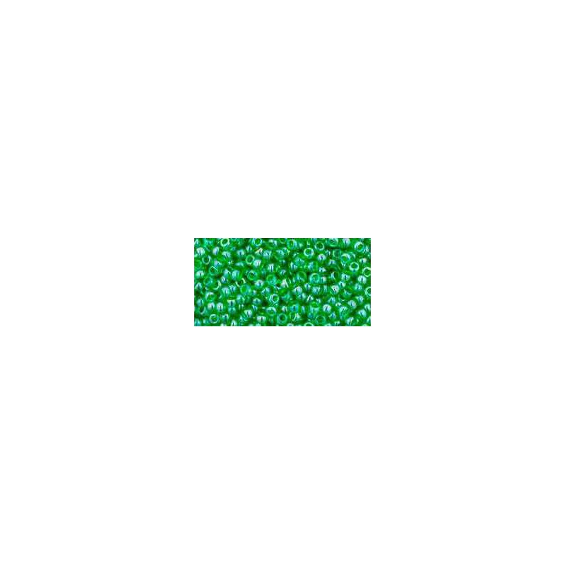 TR-11-108 Transparent-Lustered Peridot TOHO Seed Beads