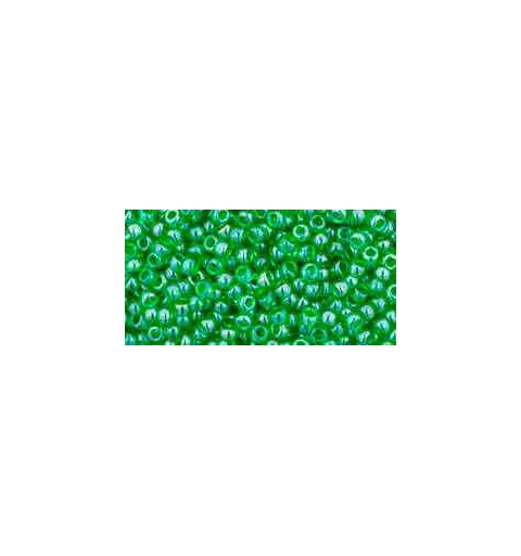 TR-11-108 Transparent-Lustered Peridot TOHO Seemnehelmed
