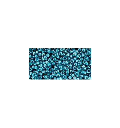 TR-11-108BD Transparent-Lustered Teal TOHO Seed Beads