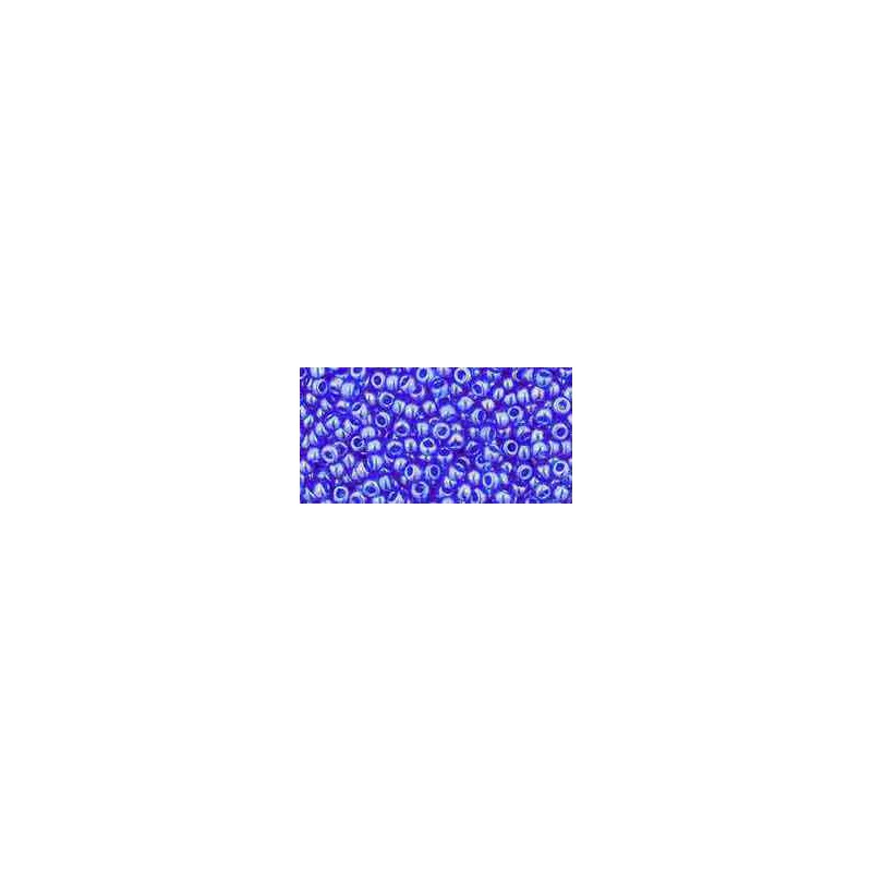 TR-11-117 Transparent-Lustered Sapphire TOHO Seed Beads