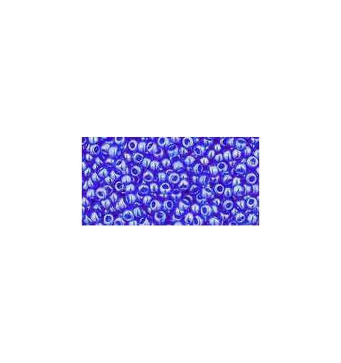 TR-11-117 Transparent-Lustered Sapphire TOHO Seemnehelmed