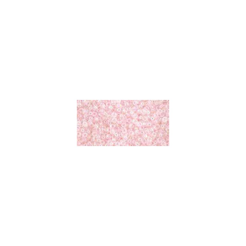 TR-11-171L Transparent Light Ballerina Pink Rainbow TOHO Seed Beads