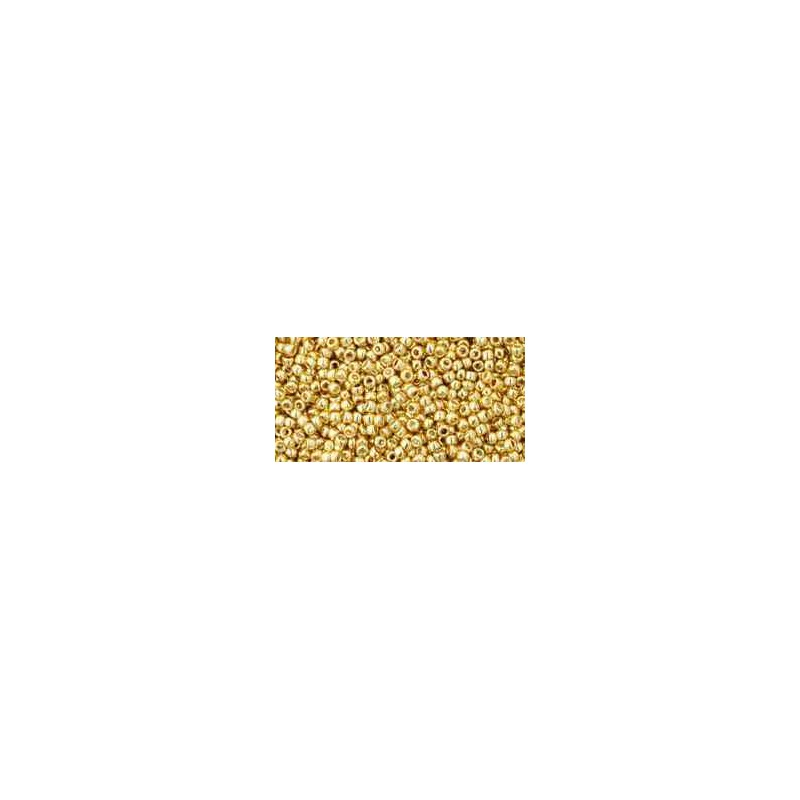 TR-15-557 Galvanized Starlight TOHO Seed Beads