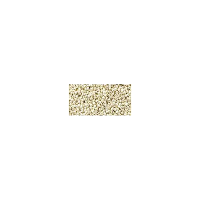 TR-15-558 Galvanized Aluminum TOHO Seed Beads