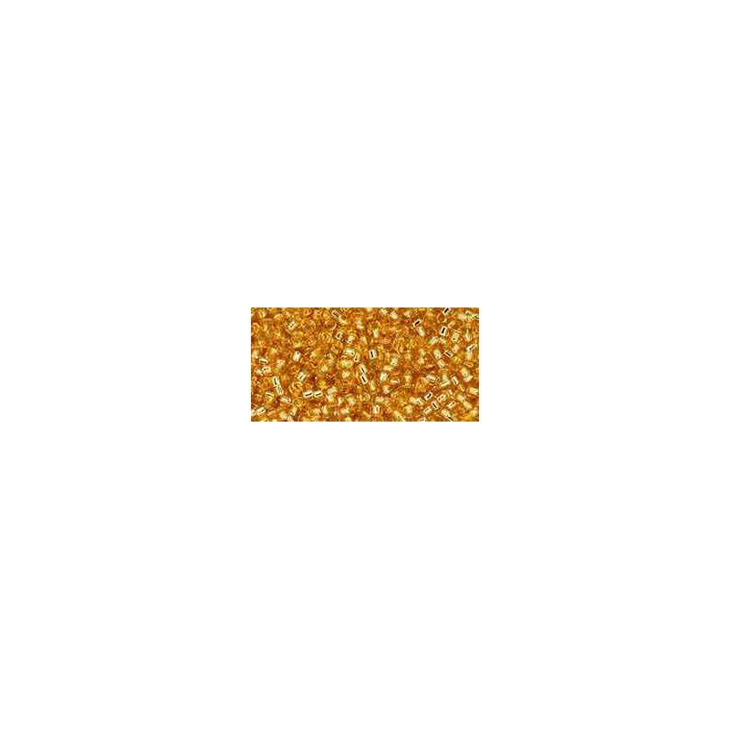 TT-01-PF22 PermaFinish Silver-Lined Transparent TOHO Treasures Seemnehelmed