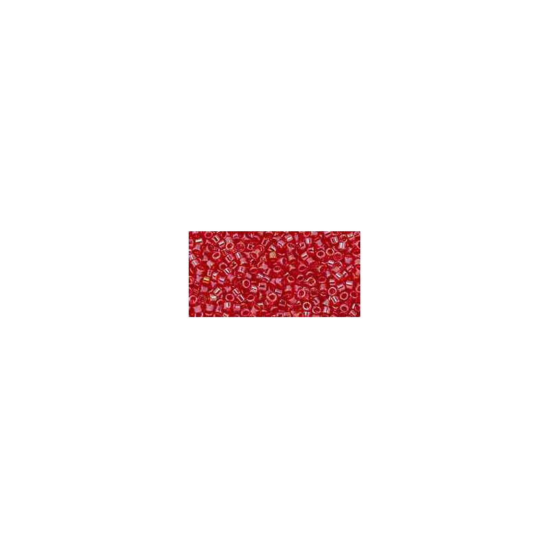 TT-01-109B Transparent Siam Ruby Luster ТОХО Трэжерс Бисер