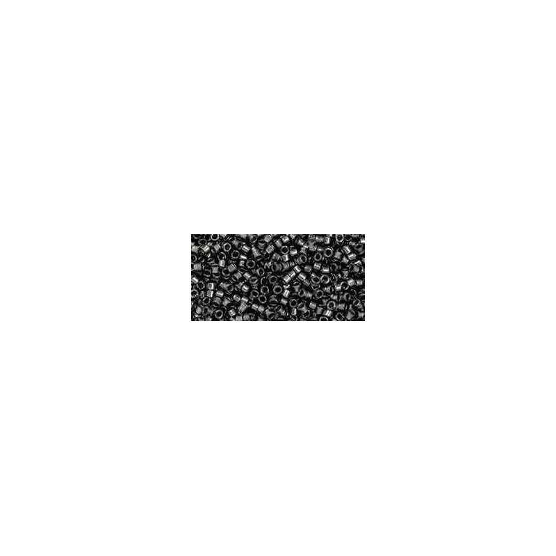 TT-01-282 Gunmetal-Lined Crystal Luster TOHO Treasures Seed Beads