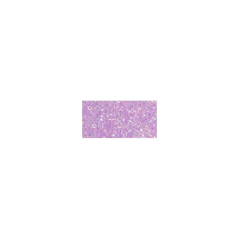TT-01-477 Transparent Dyed Lavender Mist Rainbow TOHO Treasures Seed Beads