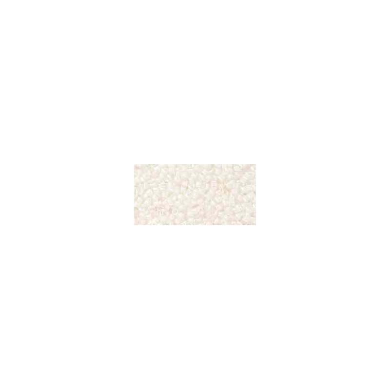 TT-01-981 Snow-Lined Crystal TOHO Treasures Seed Beads