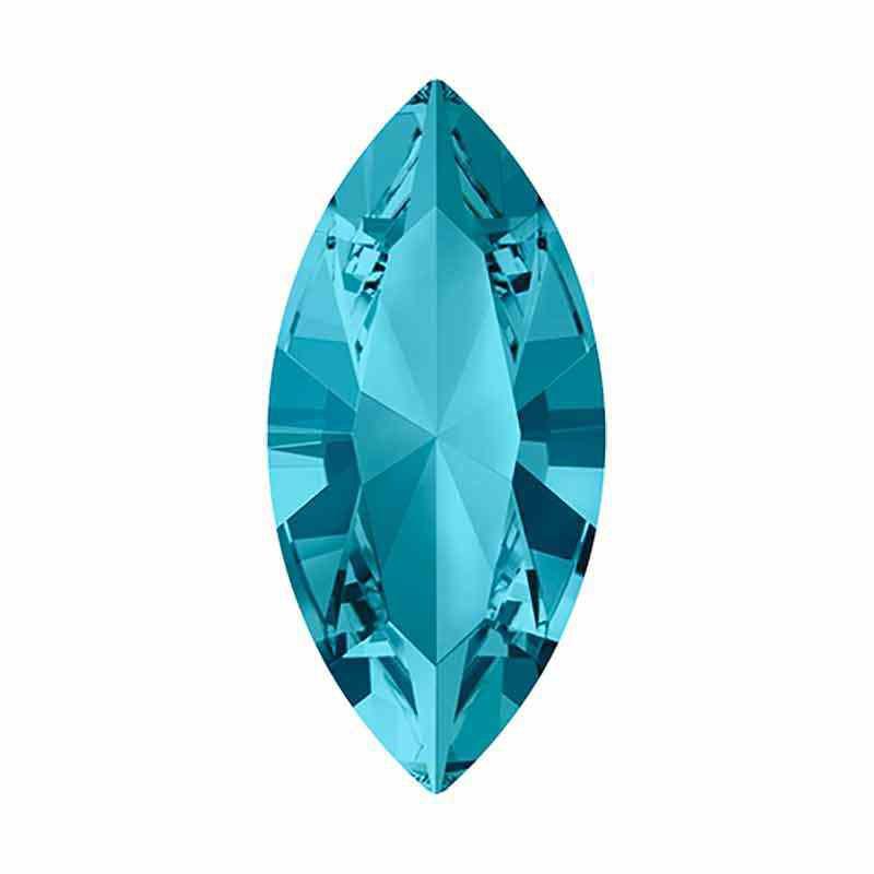 15x7mm Aquamarine F XILION Navette Fancy Stone 4228 Swarovski Crystal