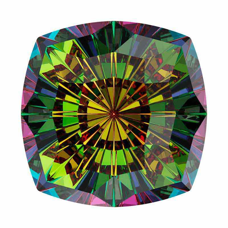 14mm Vitrail Medium F Mystic Square FS 4460 Swarovski