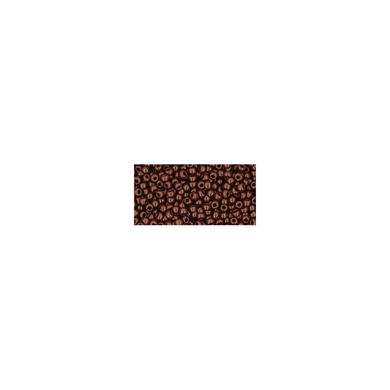 TR-11-46 OPAQUE OXBLOOD TOHO SEED BEADS