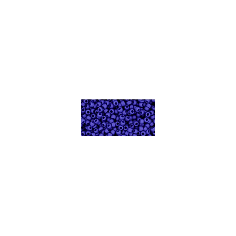 TR-11-48F OPAQUE-FROSTED NAVY BLUE TOHO SEED BEADS