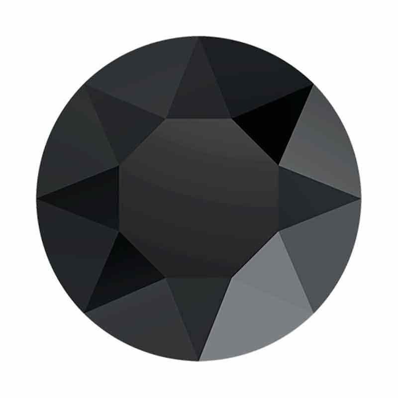 27MM Must 1201 Ümar kristall SWAROVSKI