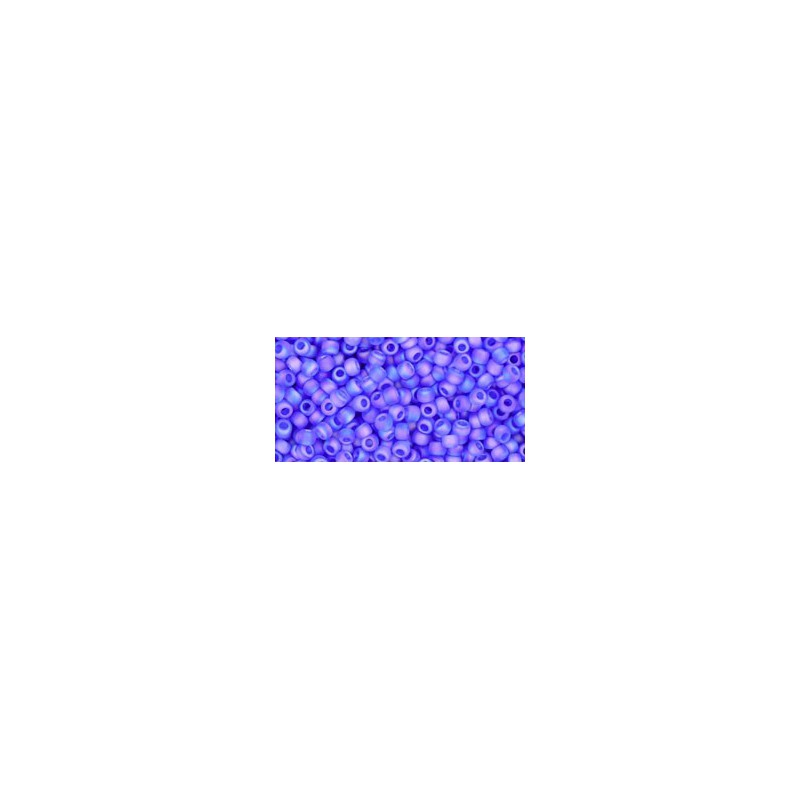 TR-11-178F TRANS-RAINBOW-FROSTED SAPPHIRE TOHO SEED BEADS