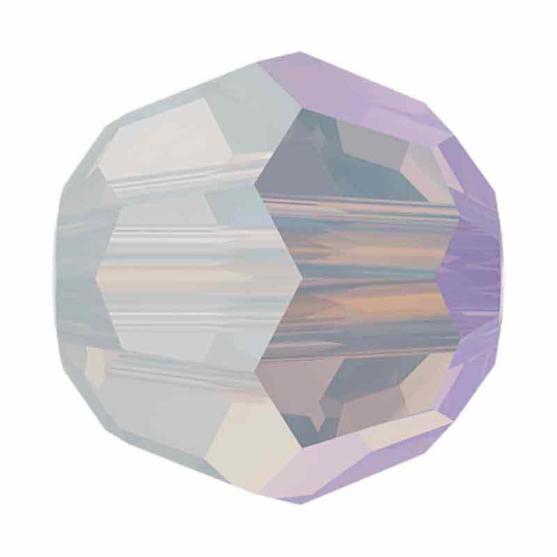 8MM Valge Opaal Shimmer 5000 ümmargused helmed SWAROVSKI