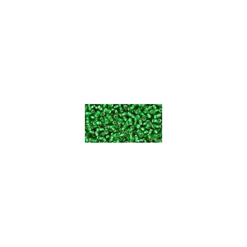 TR-11-27B Silver-Lined Grass Green TOHO Seemnehelmed