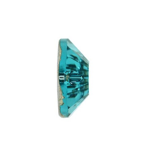 12MM Indicolite F (379) 3204 XILION SWAROVSKI ELEMENTS