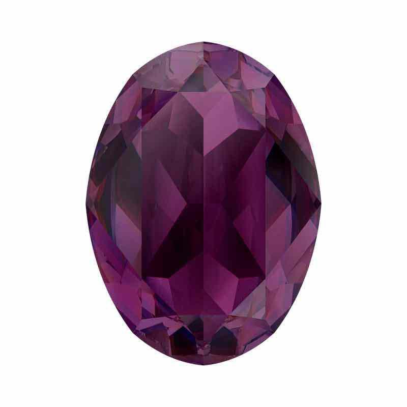 14x10mm Amethyst Ignite Ovaal Fancy Kristall 4120 Swarovski
