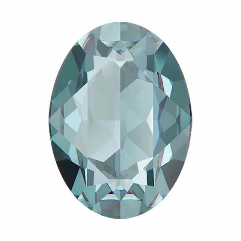18x13mm Aquamarine Ignite Ovaal Fancy Kristall 4120 Swarovski