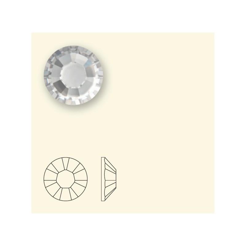 2028 SS16 Silver Shade HF (001 SSHA) SWAROVSKI ELEMENTS
