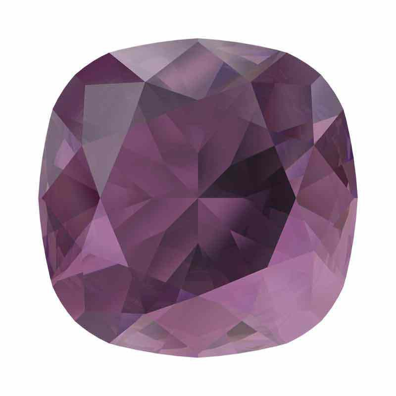 10mm Amethyst Ignite Cushion Square Fancy Stone 4470 Swarovski