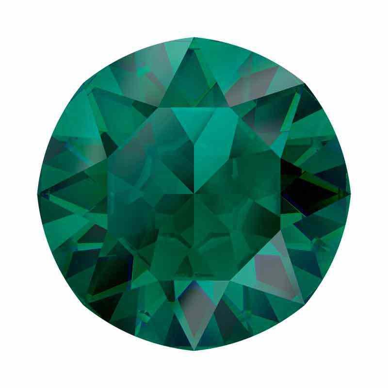 SS39(~8.25mm) Emerald Ignite 1088 XIRIUS Chaton SWAROVSKI
