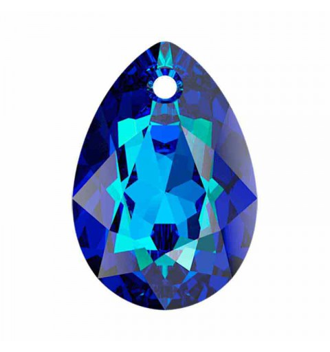 16MM Bermuda Blue Pear Cut Подвески 6433 SWAROVSKI