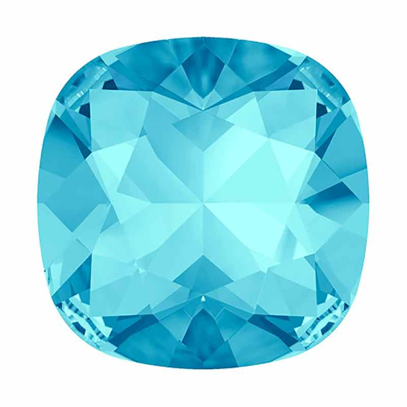 10mm Aquamarine F Подушкообразный Кристалл 4470 Swarovski
