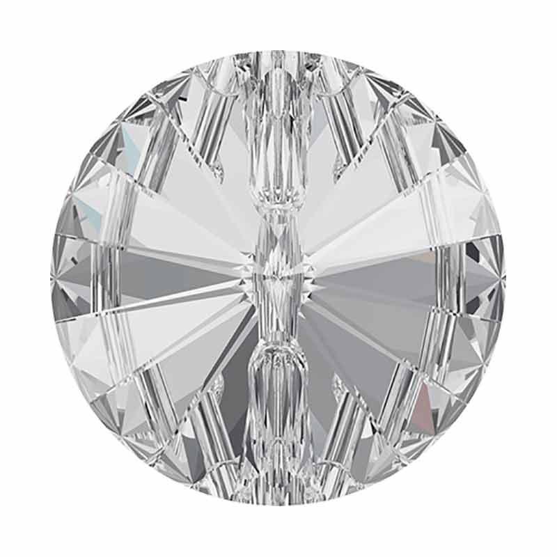 12MM Kristall (001) F Rivoli 3015 Nööp SWAROVSKI