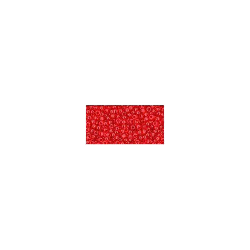 TR-11-5B Transparent Siam Ruby TOHO Seed Beads