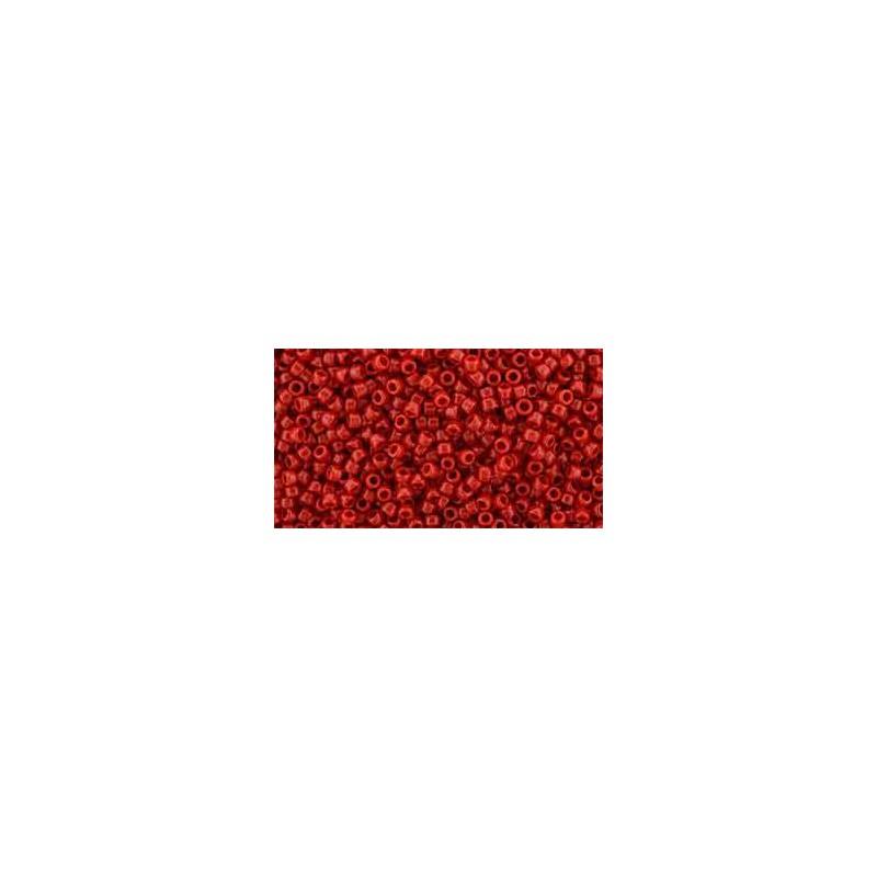 TR-15-45A Opaque Cherry TOHO Seed Beads