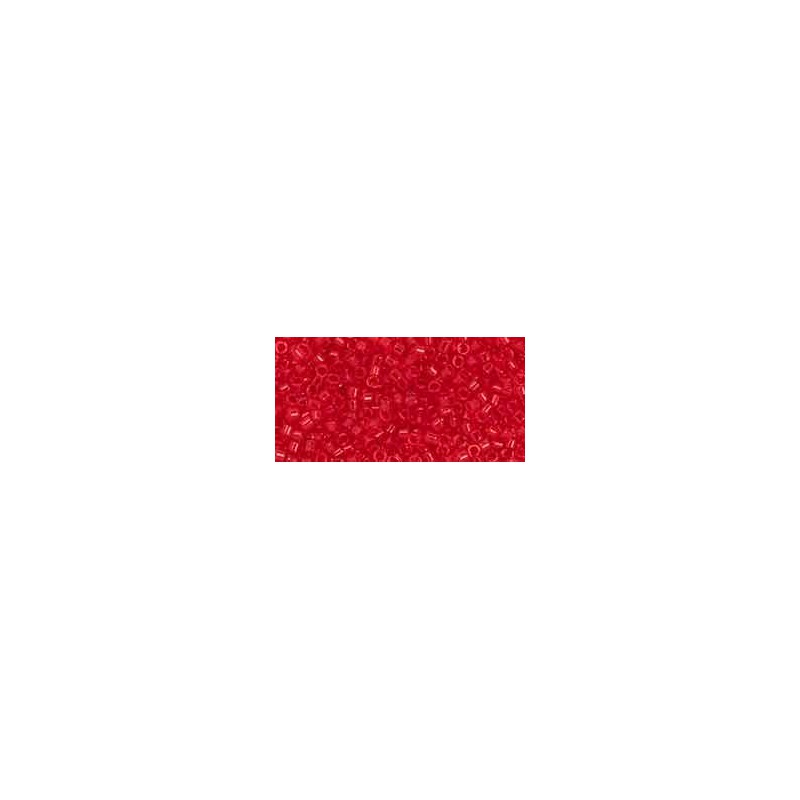 TT-01-5B Transparent Siam Ruby TOHO Treasures Seed Beads